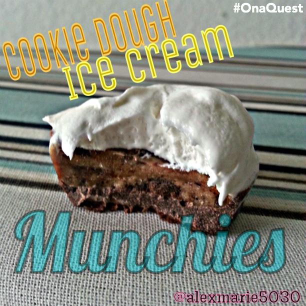 Quest Cookie Dough Ice Cream Munchie