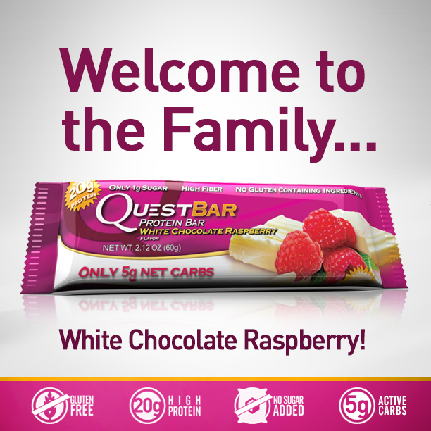 Welcome, White Chocolate Raspberry!