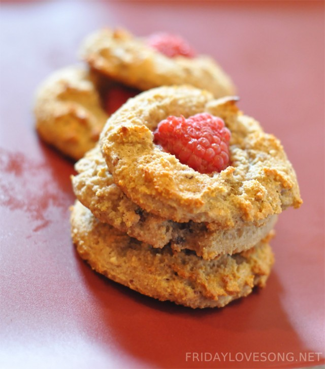 White Chocolate Raspberry Cookies