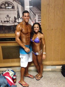 Allison's top supporter, her best friend, her rock, and swolemate.