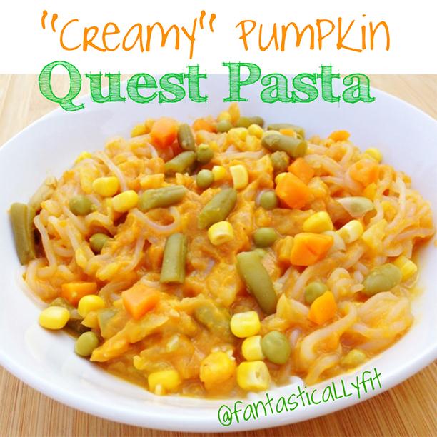 Creamy Pumpkin Quest Pasta