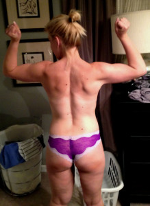 Strength training played a major role in Emily's transformation.
