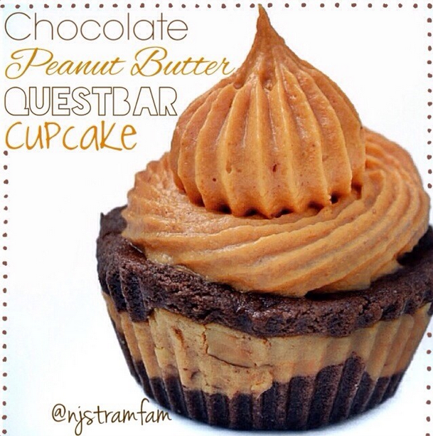 Quest Chocolate Peanut Butter Cupcake
