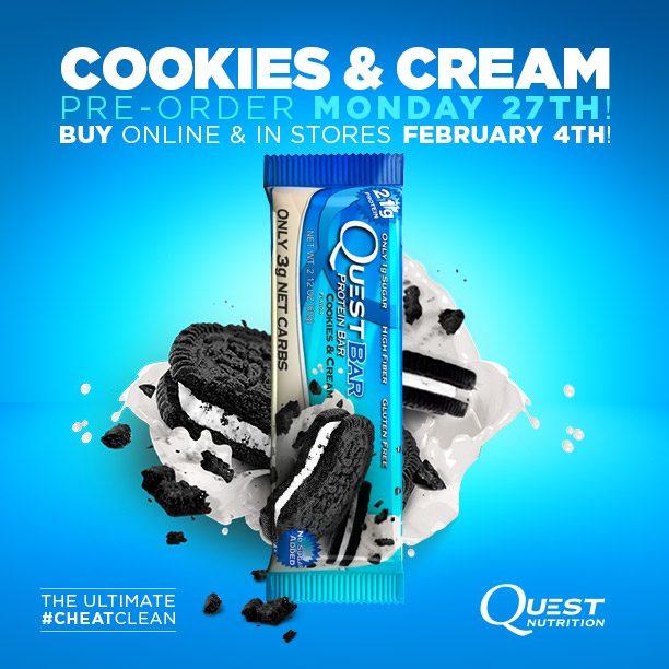 Introducing the Ultimate #CheatClean – Cookies & Cream!