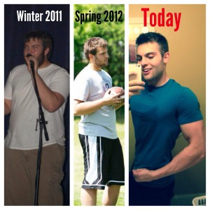Carter lost a total of 120 lbs. in his transformation.