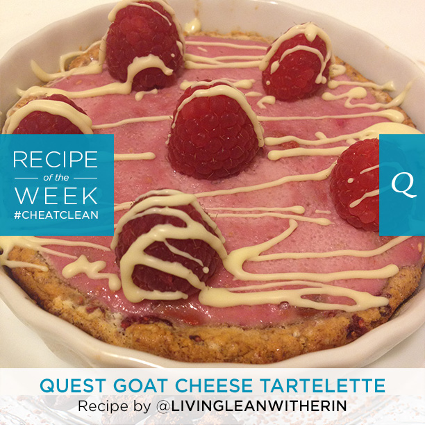 Quest Goat Cheese Tartelette