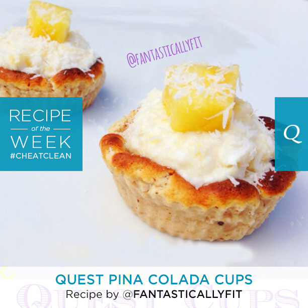 Quest Pina Colada Cups