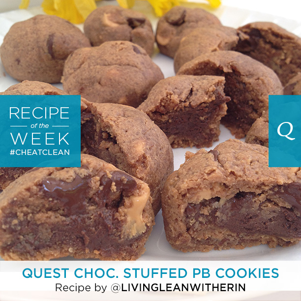 Quest Chocolate Stuffed PB Cookies