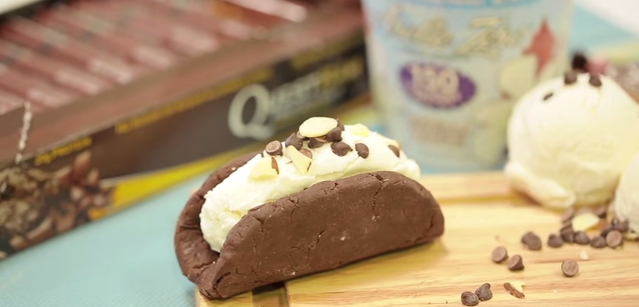 #15SecondRecipe – Quest + Arctic Zero Chocolate Tacos