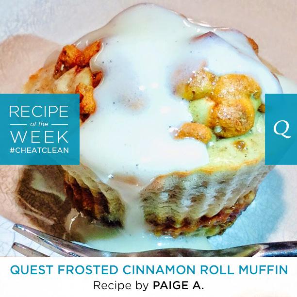 Quest Cinnamon Roll Muffins
