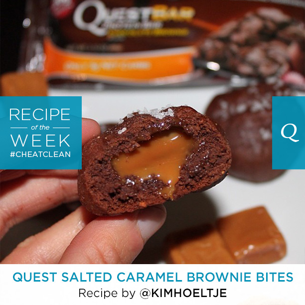 Quest Salted Caramel Brownie Bites
