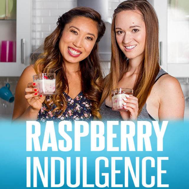Cooking Clean with Quest – Raspberry Indulgence with Blogilates and Alisha Marie
