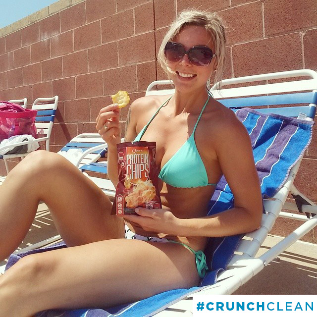 #CrunchClean Fun Under The Summer Sun With Quest Nutrition Protein Chips!