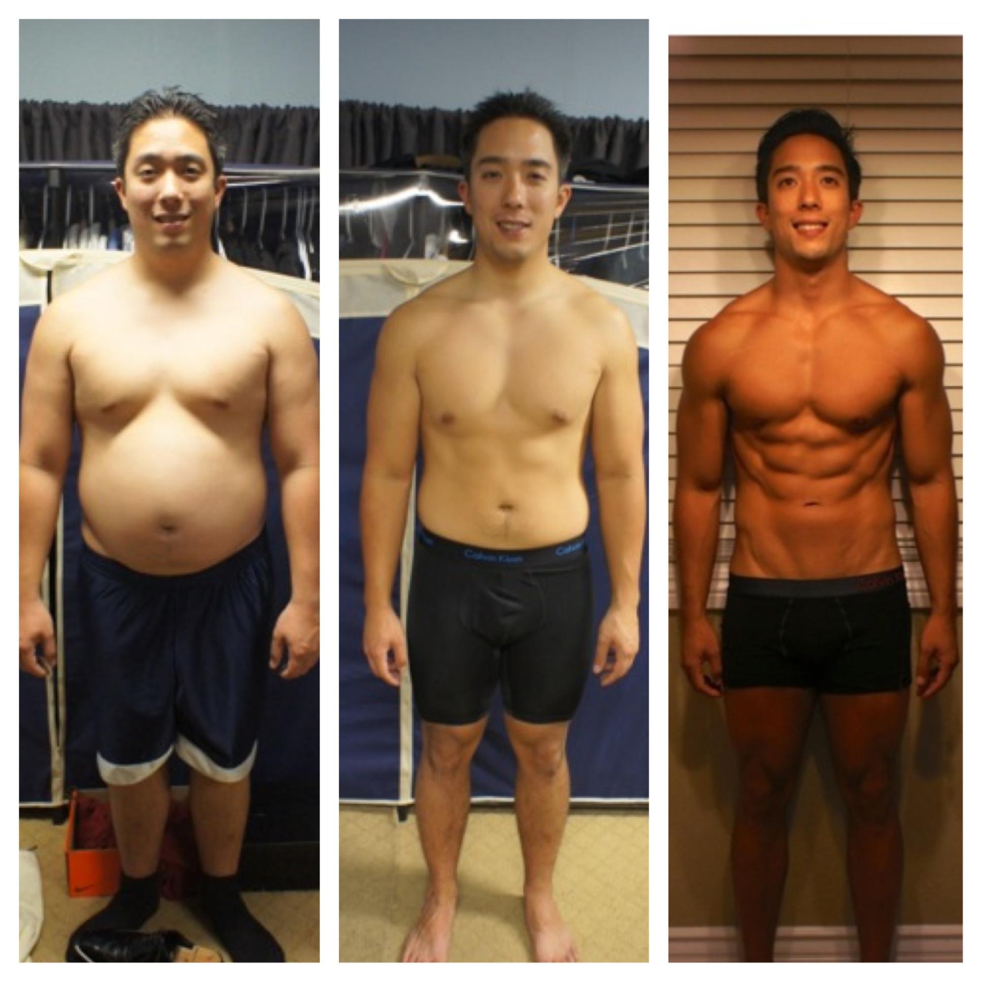 Crossfit body transformation