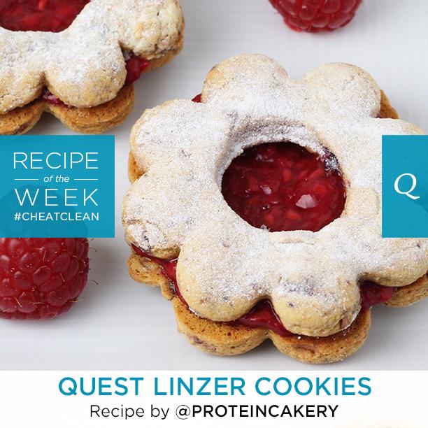 Quest Bar Linzer Cookies