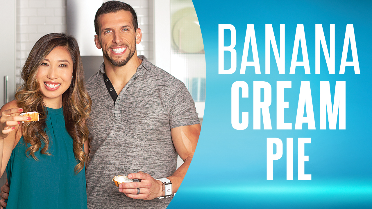 Cooking Clean With Quest – Banana Cream Pie with Blogilates and Fit2Fat2Fit