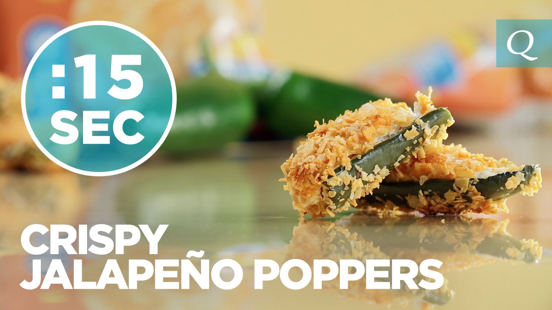 Quest Nutrition Crispy Jalapeño Poppers #15SecondRecipe