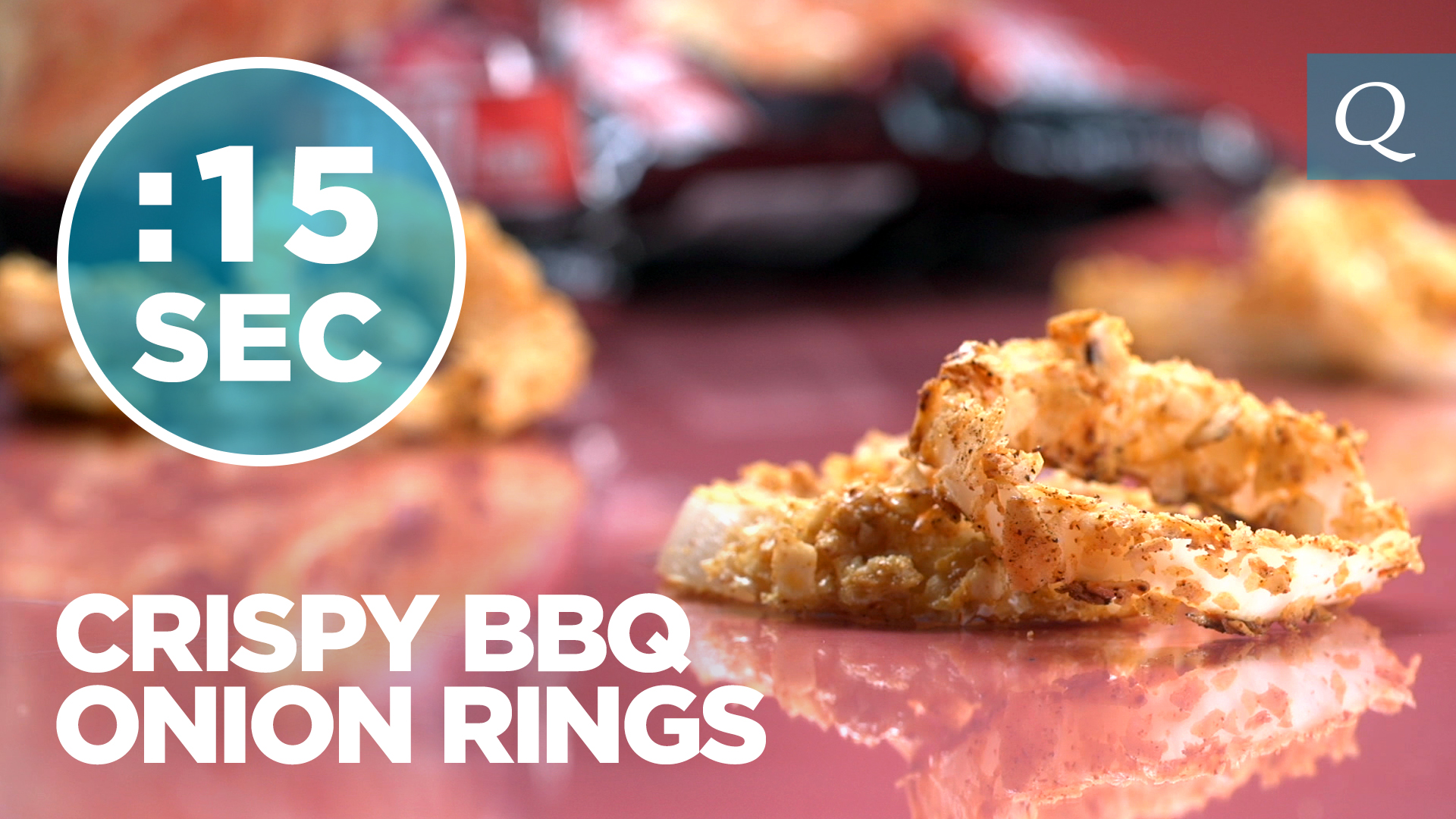 Quest Nutrition BBQ Onion Rings #15SecondRecipe