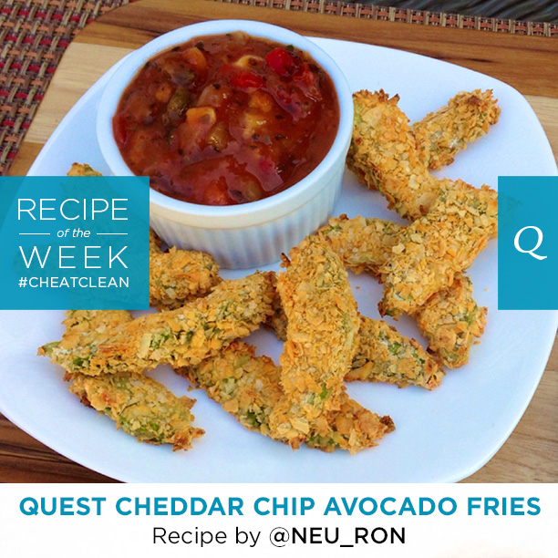 Quest Nutrition Cheddar Chip Avocado Fries