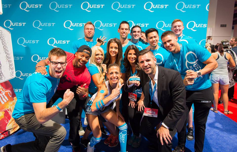 12 Reasons Why The Quest Nutrition Olympia Booth Was Awesome