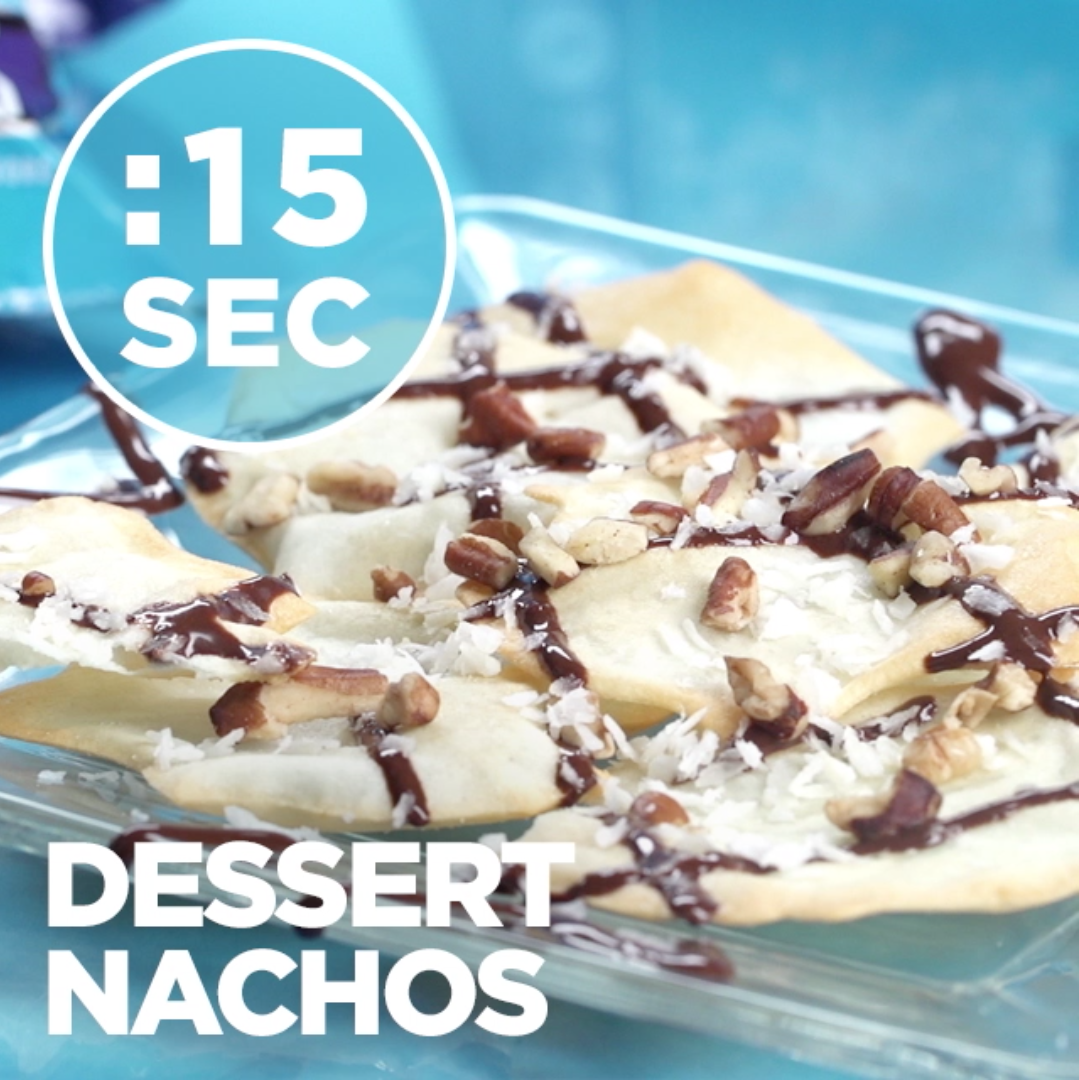 Quest Nutrition Dessert Nachos #15SecondRecipe