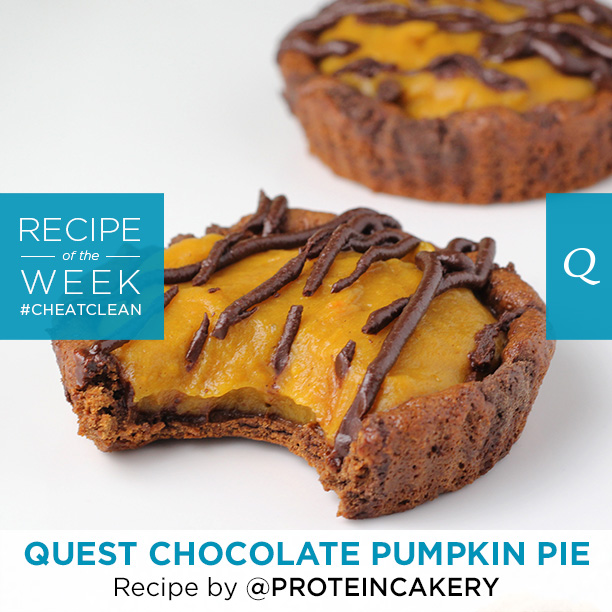 Quest Nutrition Double Chocolate Pumpkin Pie