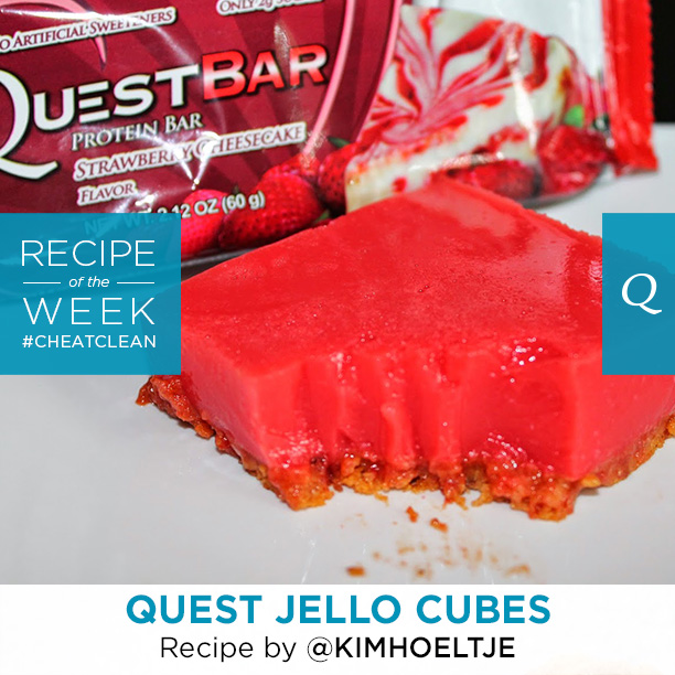 Quest Nutrition Jello Cubes Recipe