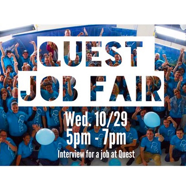 Attention Southern California! Quest Nutrition Is Having a Job Fair!