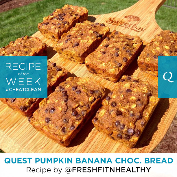Quest Nutrition Pumpkin Banana Chocolate Bread