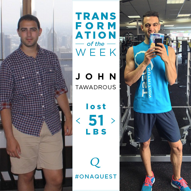 "Transformation Tuesday | The Battle Against ""Fat John"""