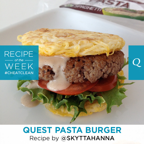 Quest Nutrition Pasta Burger