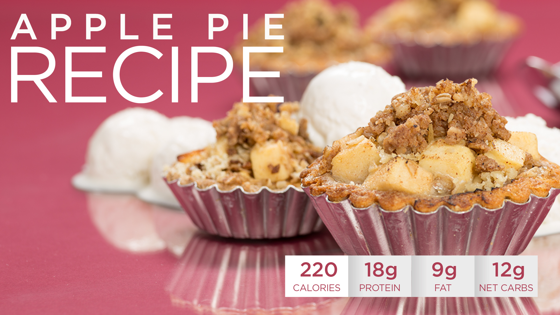 Healthy Holidays Recipe: Quest Nutrition Apple Pie