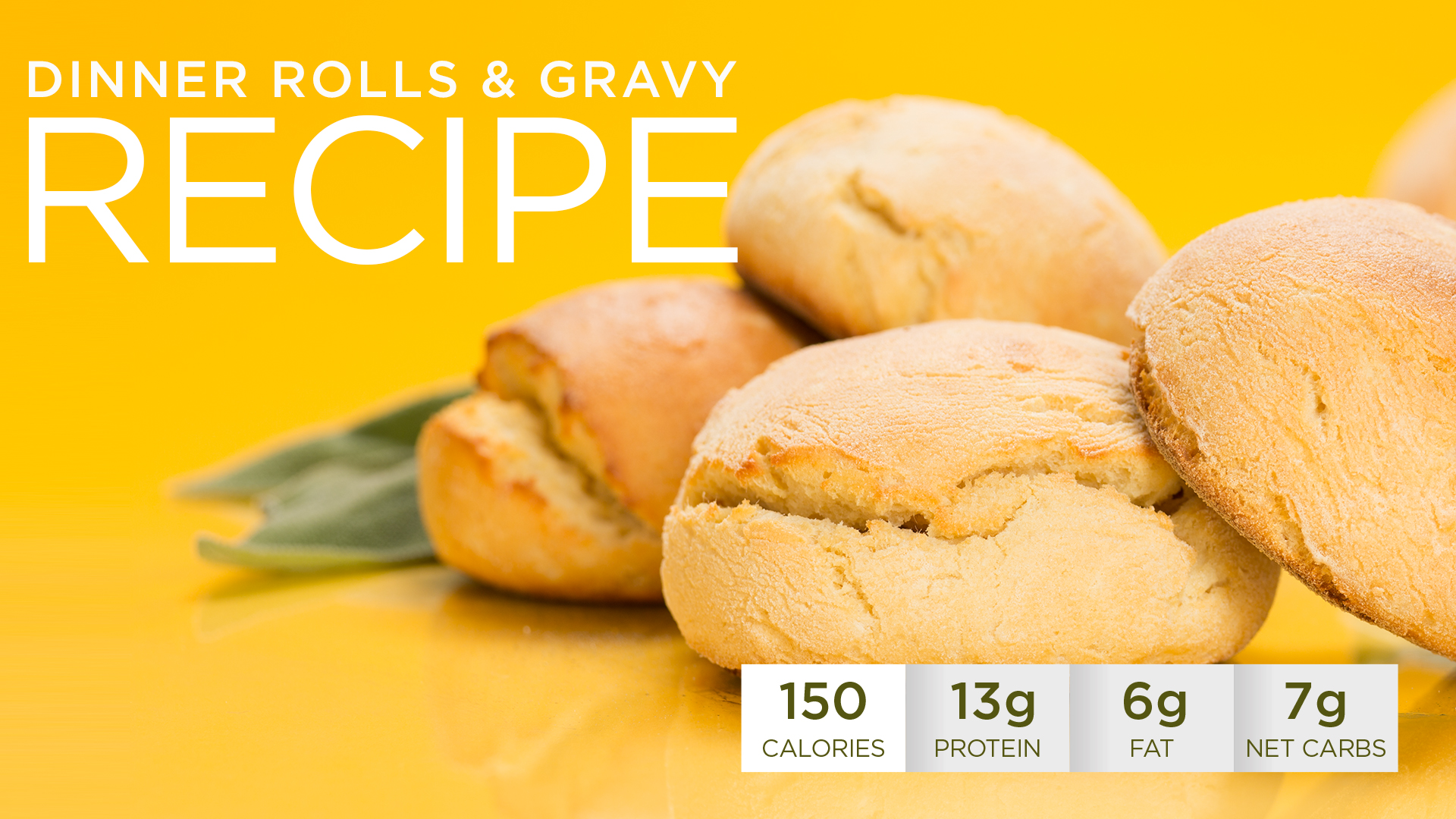 Healthy Holidays Recipe: Quest Nutrition Dinner Rolls and Gravy