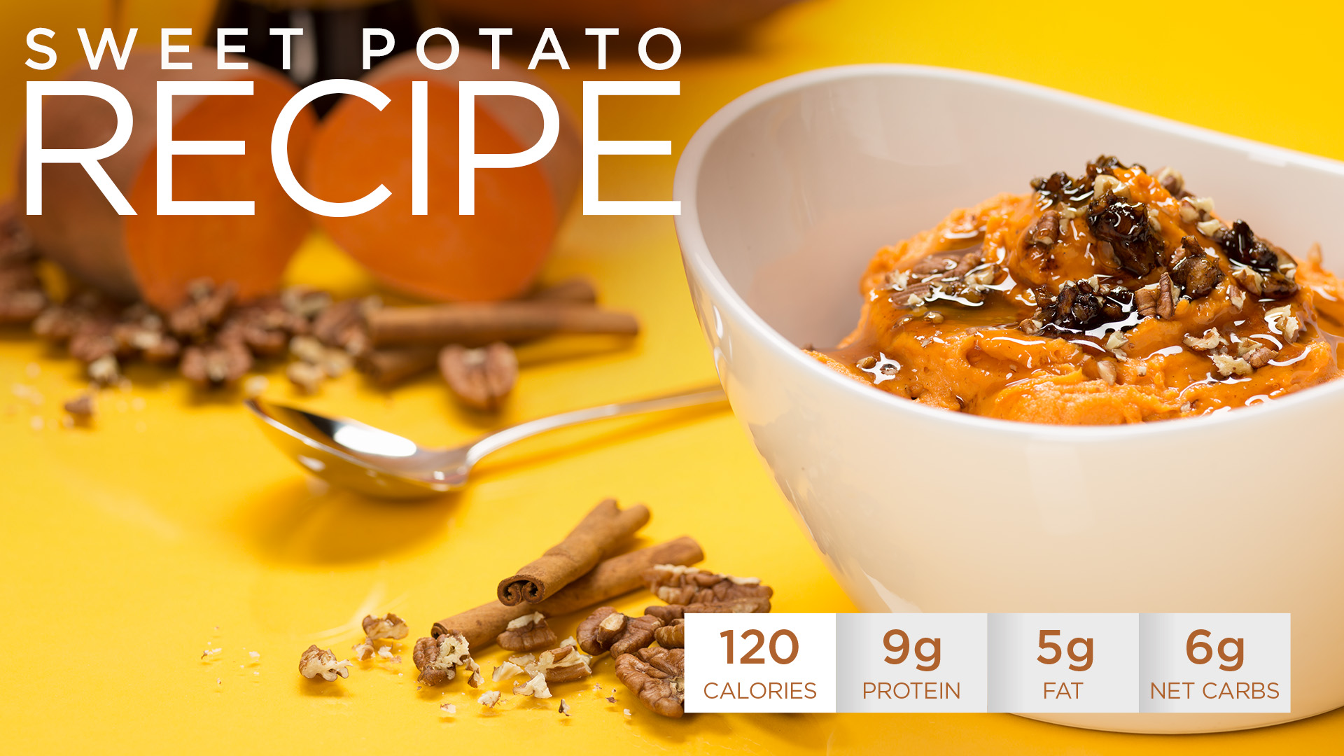 Healthy Holidays Recipe: Quest Sweet Potatoes Casserole