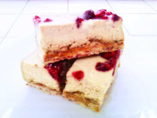 Aloha Sunrise Protein Cake Bars