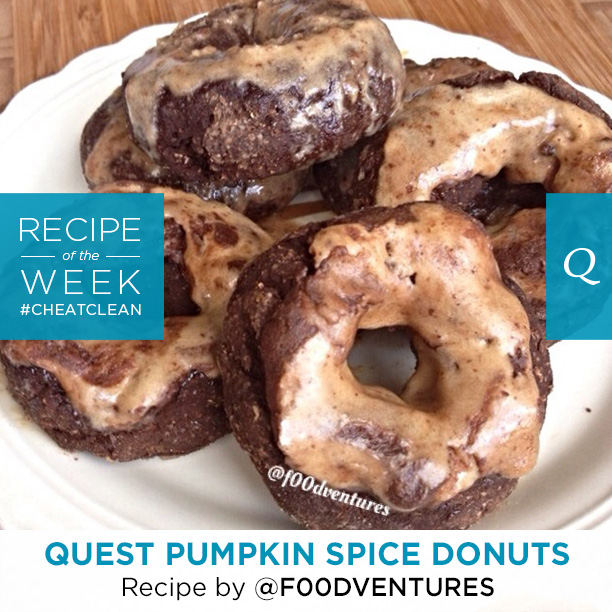 Quest Nutrition Pumpkin Spice Donuts