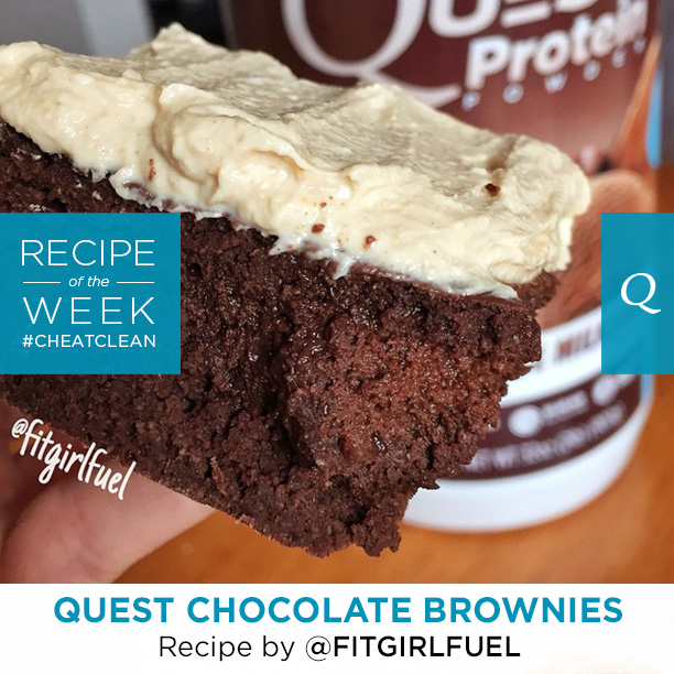 Quest Nutrition Chocolate Brownies