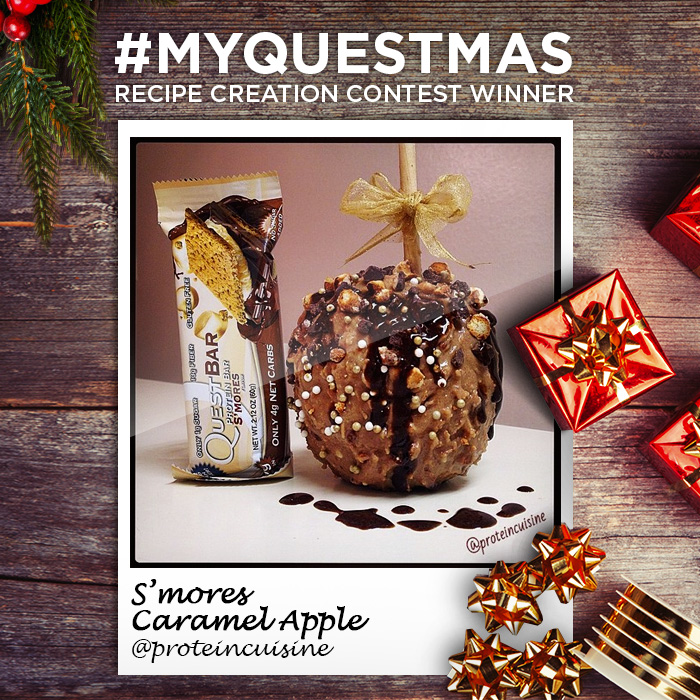 #MyQuestmas Recipe Winner #1 – Quest Nutrition Caramel Apple