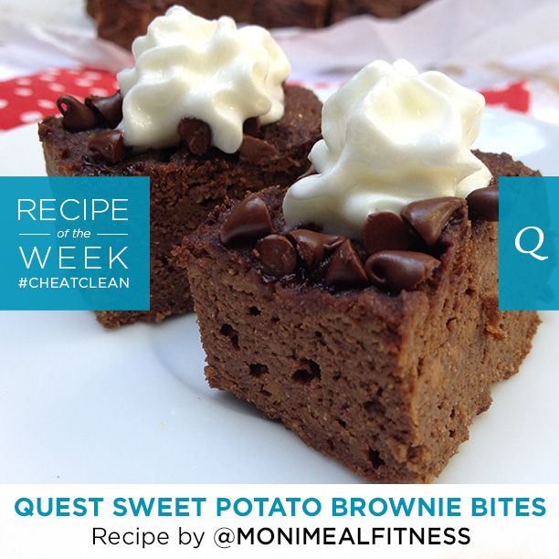 Quest Nutrition Sweet Potato Brownie Bites