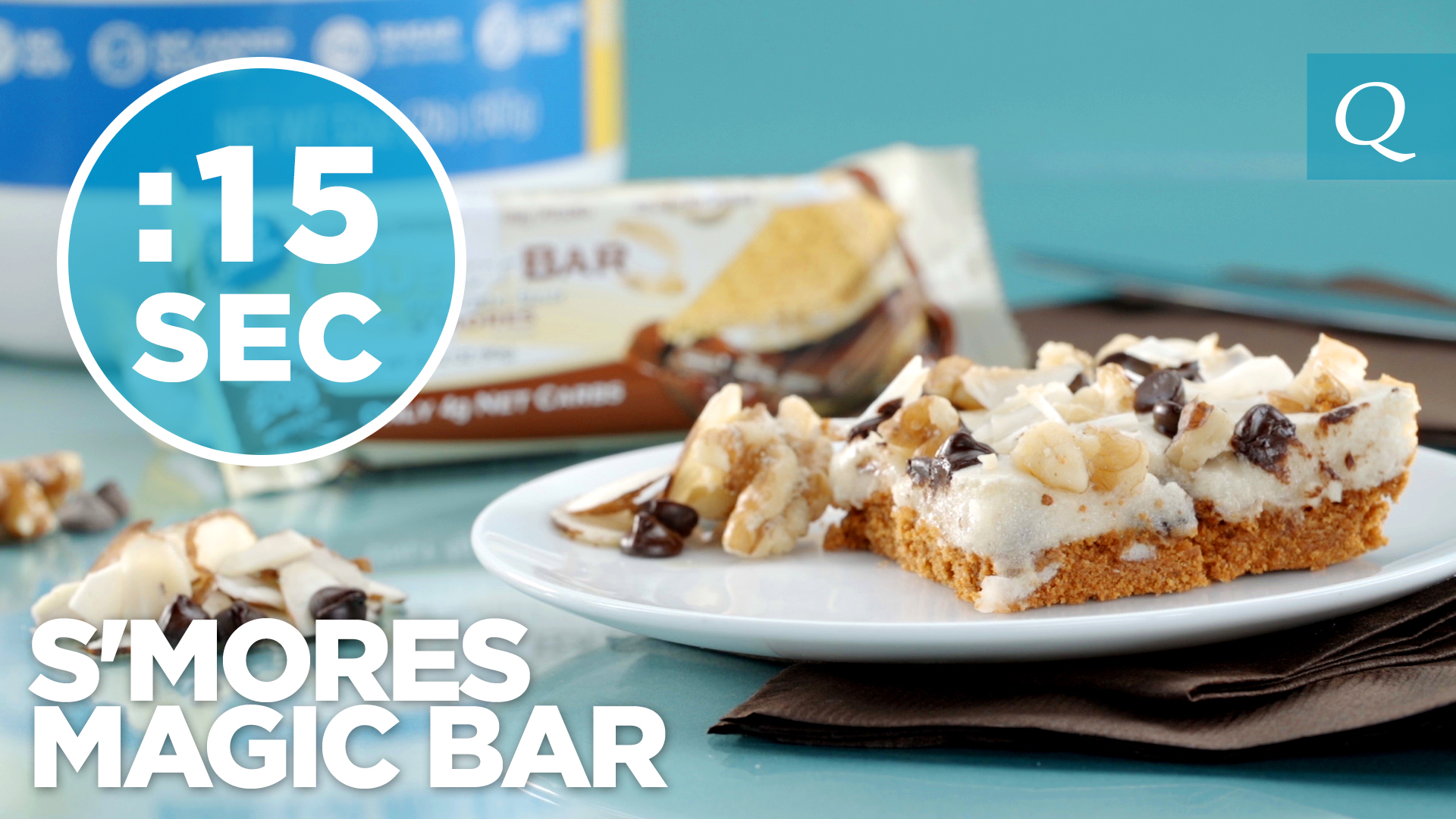 Quest Nutrition S'mores Magic Bars #15SecondRecipe