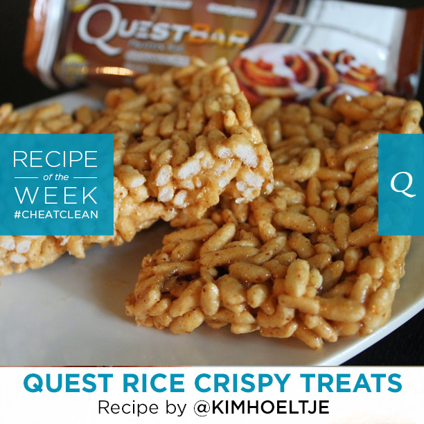 Quest Nutrition Rice Crispy Treats
