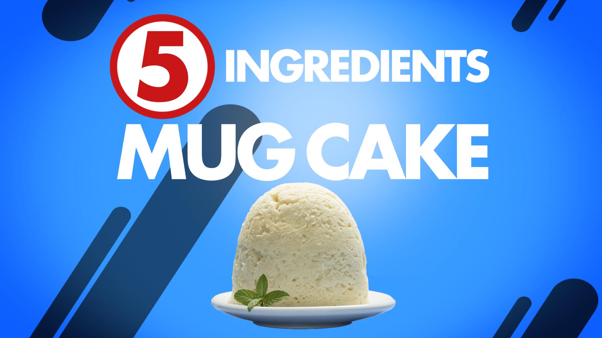 Quest Nutrition Five-Ingredient Mugcake