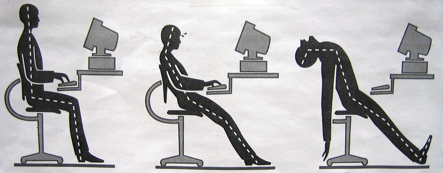 3 Exercises to Perform At Work to Improve Your Posture