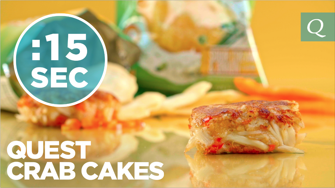 Quest Nutrition Crab Cakes #15SecondRecipe