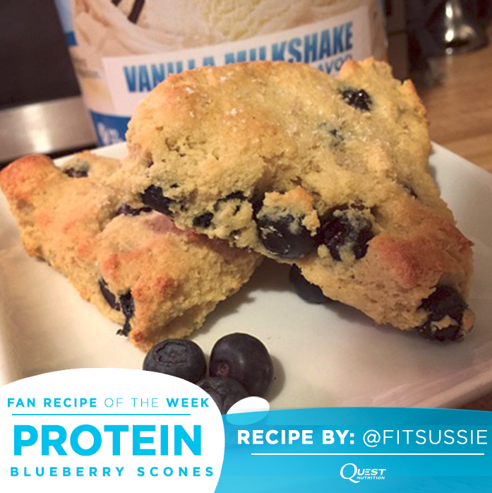 Quest Nutrition Protein Blueberry Scones