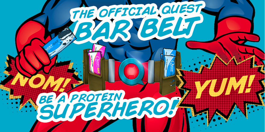 The Official Quest Bar Belt Is Coming Soon!