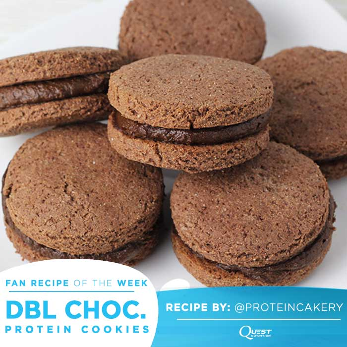 Quest Nutrition Double Chocolate Frosting Protein Cookies