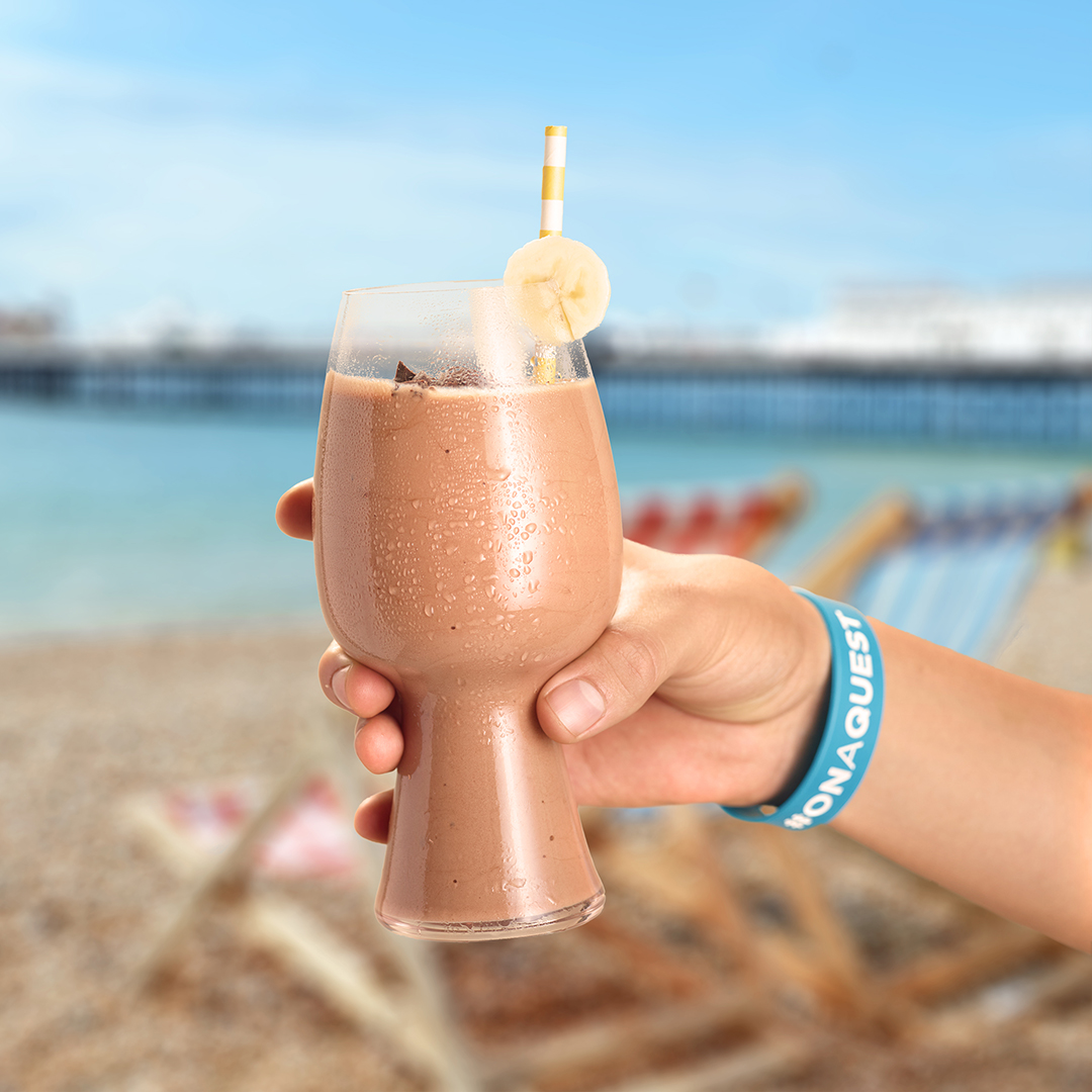 Quest Nutrition Chocolate Covered Banana Shake