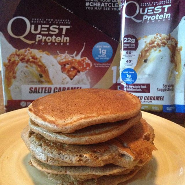 Quest Nutrition Salted Caramel Pancakes