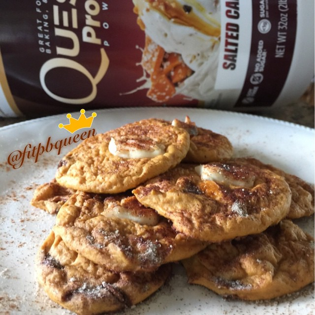 Quest Nutrition Salted Caramel Cheesecake Snickerdoodle Cookies